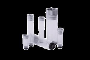 Micronic's range of internally threaded push cap and screw cap tubes