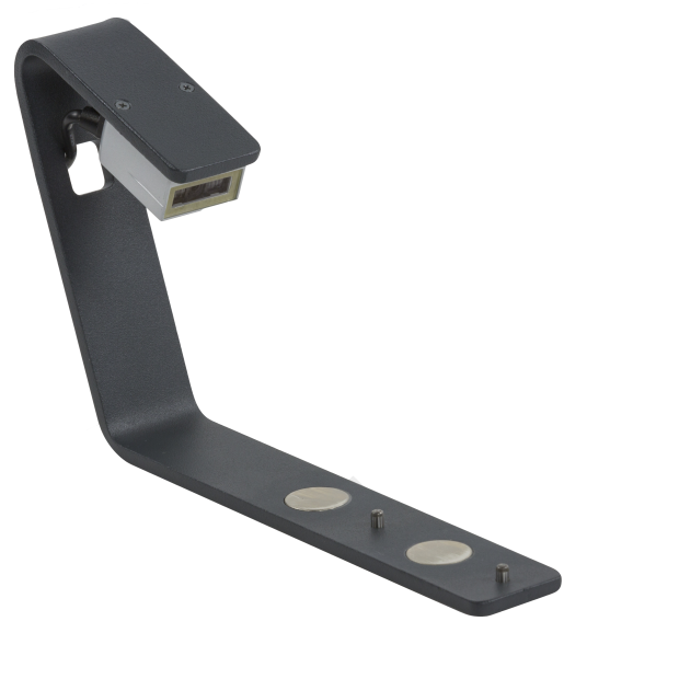 The side barcode reader for the DR500 generation rack readers by Micronic