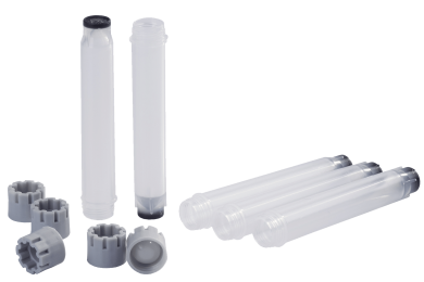1.40ml externally threaded tubes and grey externally threaded screw caps
