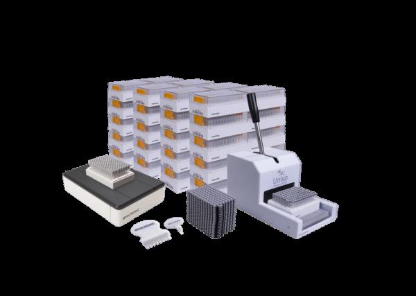 The starter pack premium with push caps
